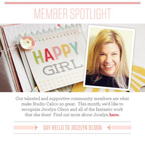 May Member Spotlight | Jocelyn Olson
