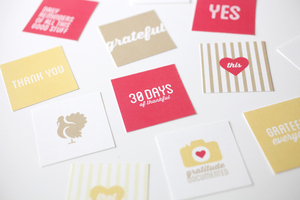 ​Hello 30 Days of Thankful! | Cathy Zielske