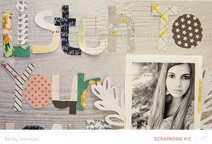 Handcut Letters Tutorial | Becky Novacek