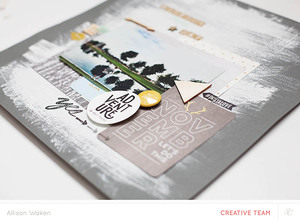 Use Your Project Life Cards in a Layout Video | Allison Waken