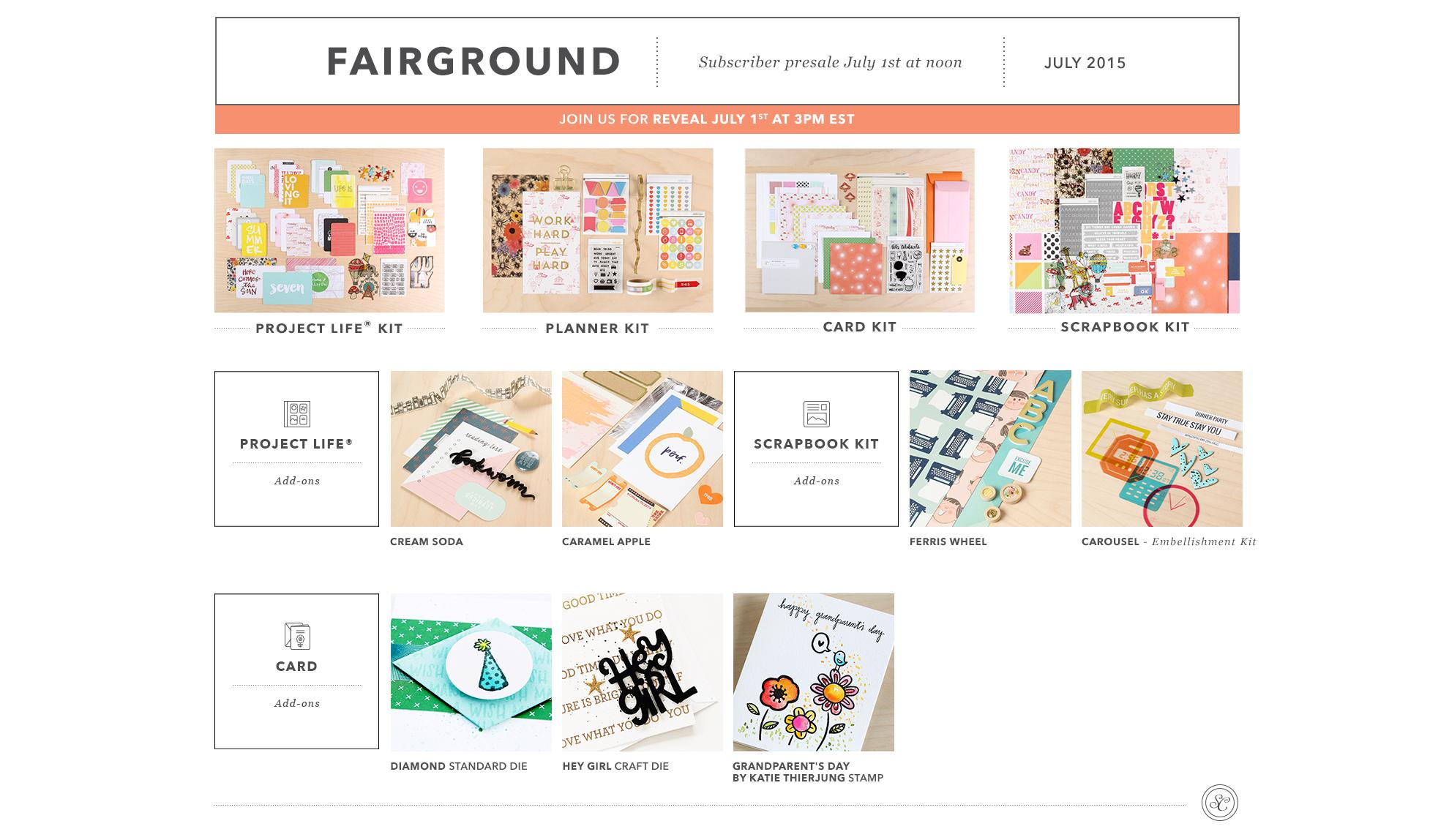 Fairground Reveal