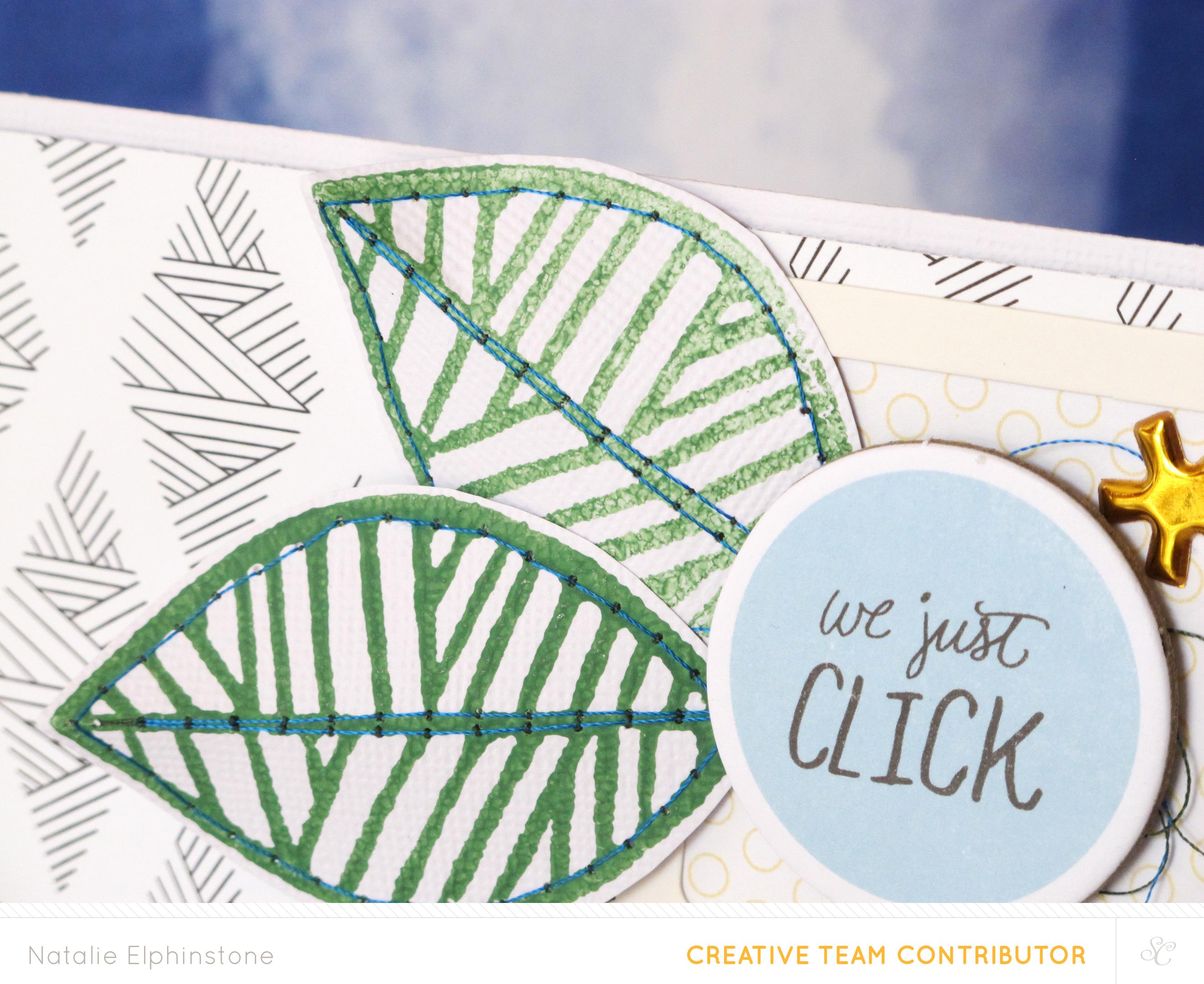 Tutorial: Block Printing With the Blockwallah Leaf Stamp by Natalie Elphinstone
