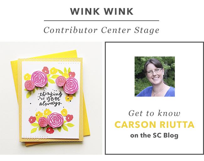 Contributor Center Stage | Carson Riutta
