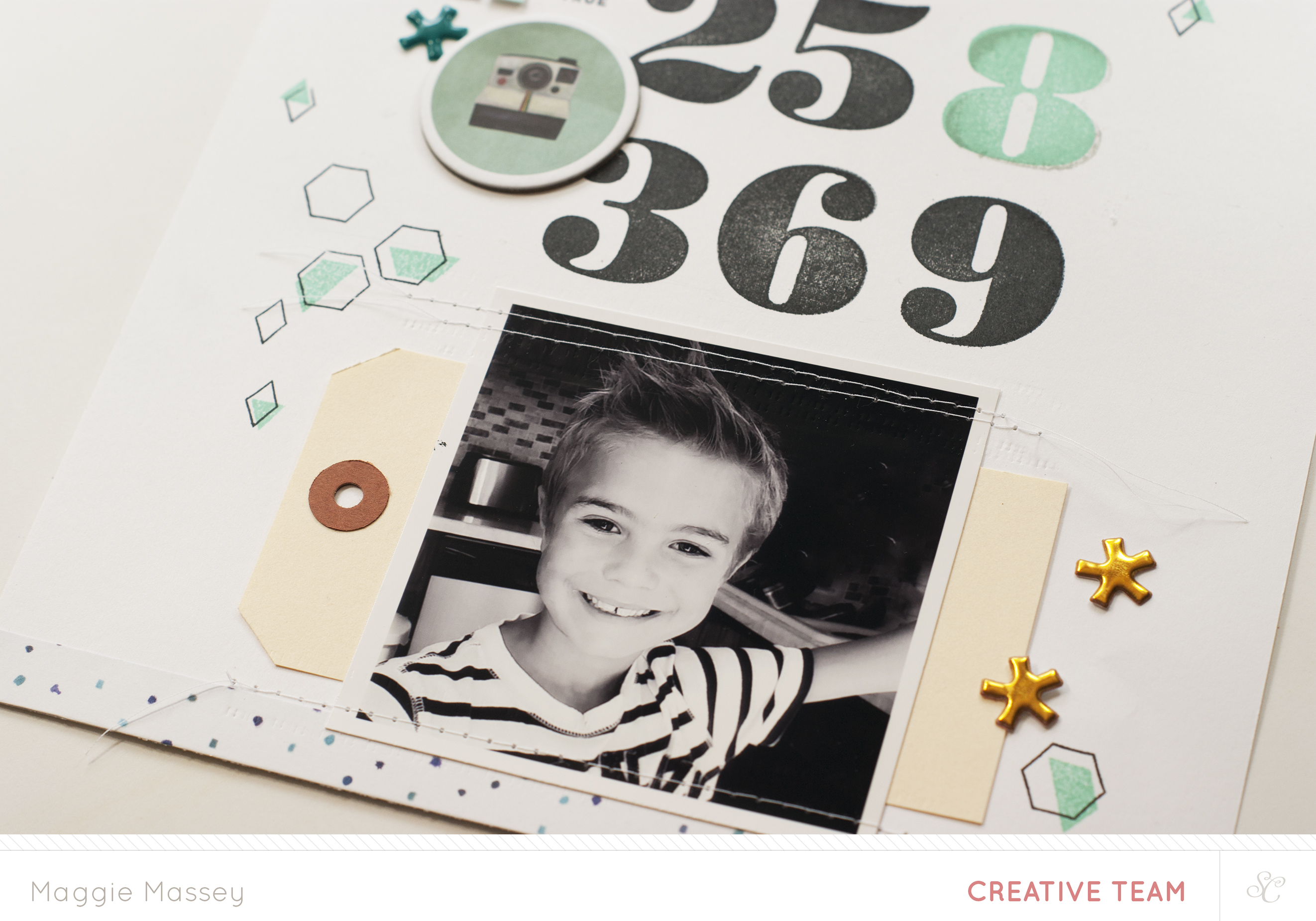 Tutorial: Using the Jack Number Stamp with Maggie Massey