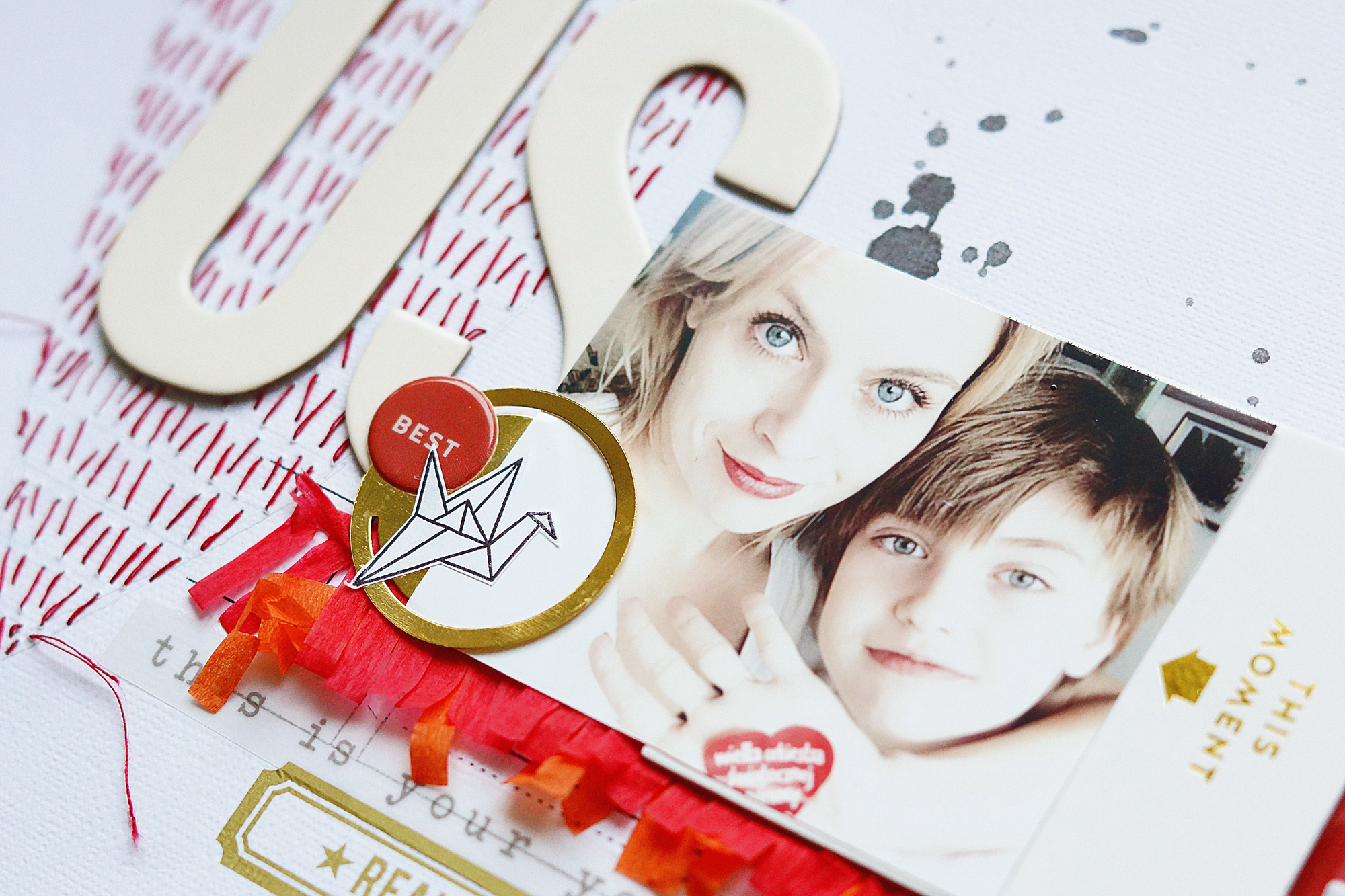 Tutorial: Using the Arendal Scrapbook Kit with Anna-Maria Wolniak
