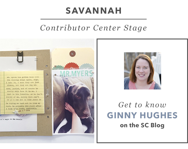 Contributor Center Stage: Ginny Hughes