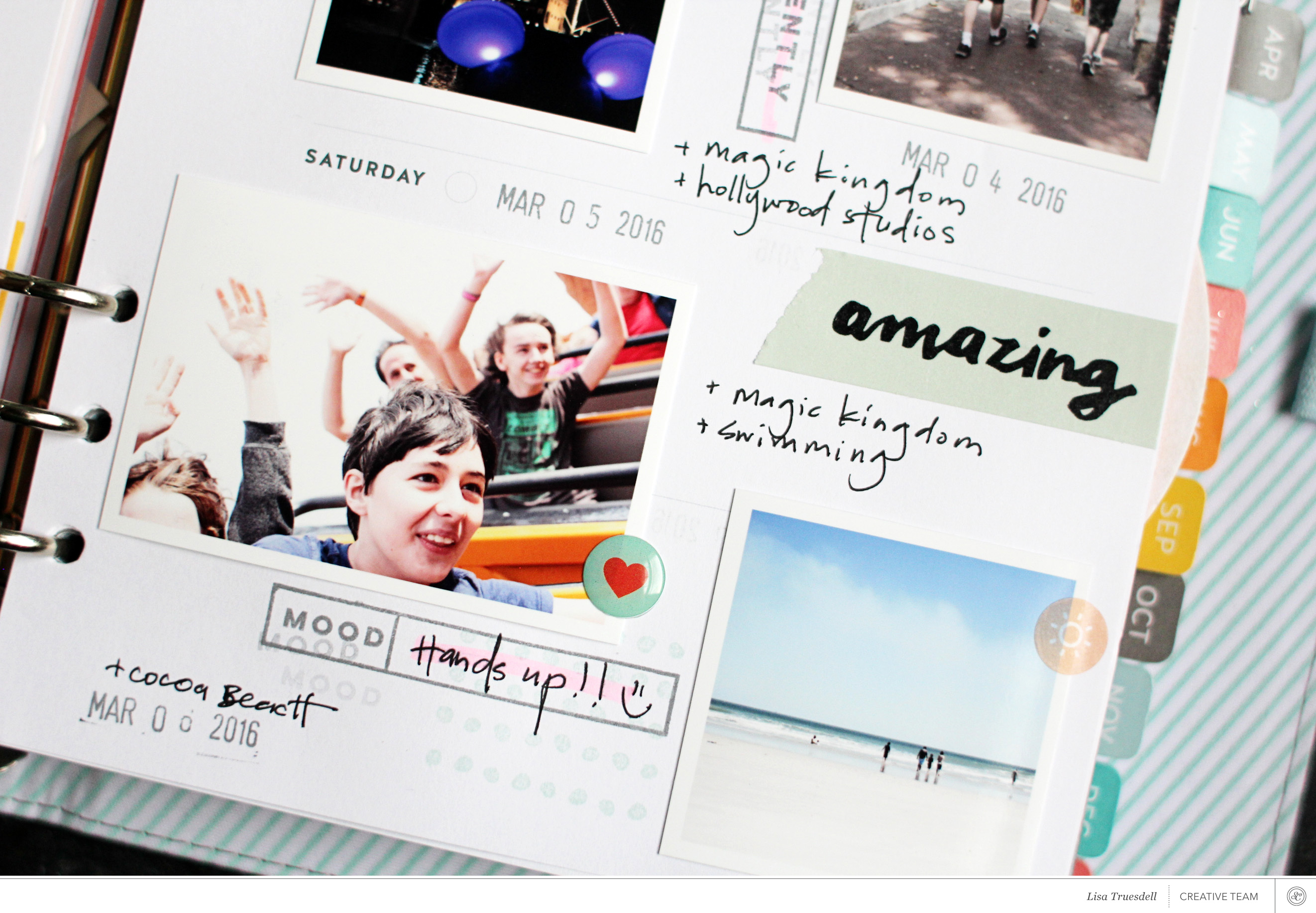 Tutorial: Using Your Hello Forever Planner for Memory Keeping with Lisa Truesdell