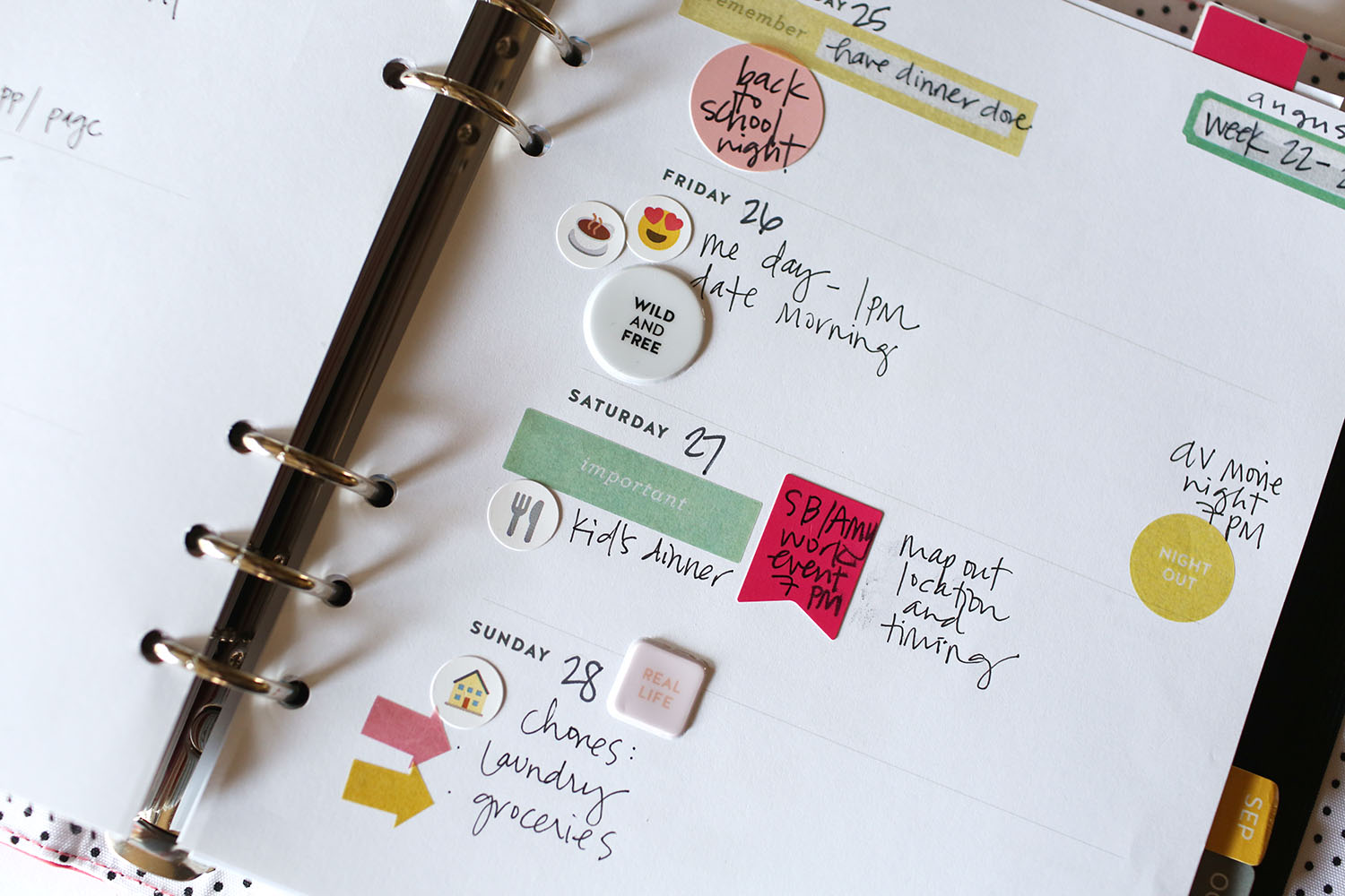 Tutorial | Using the Young At Heart Planner Kit with Jamie Waters