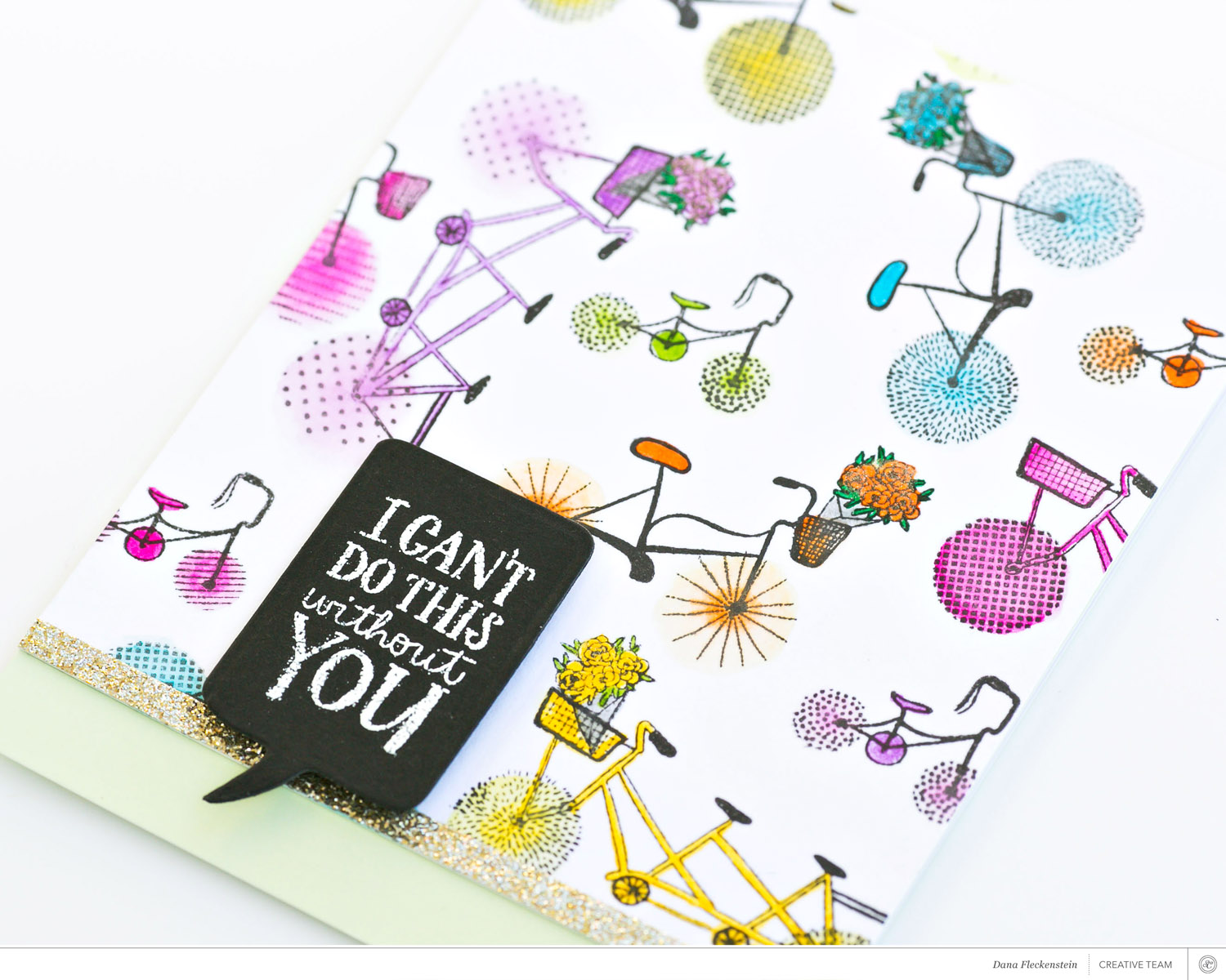 Using September's Stamps with Dana Fleckenstein