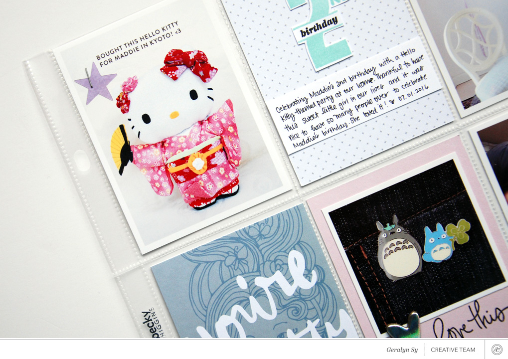 Video   Using the Sonnet Documenter and Stamp kits with Geralyn Sy