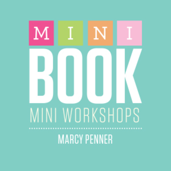 Mini book logo marcy