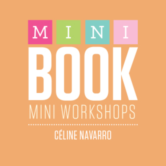Mini book logo celine