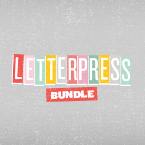 Letterpress Bundle