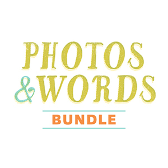 Photos + Words Bundle