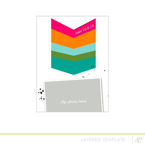 Printshop Layered Template