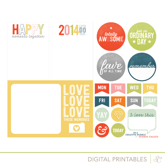 Copper Mountain Printable Happy Moments by In A Creative Bubble