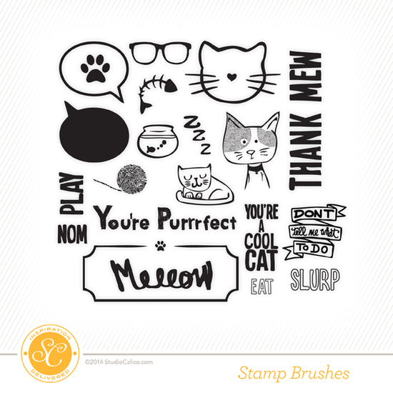 Cat Lover's Mini Kit Digital Stamps
