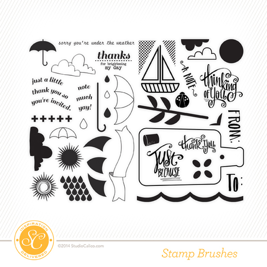 Office Hours Card Kit Digital Stamps + Coordinating Cuts