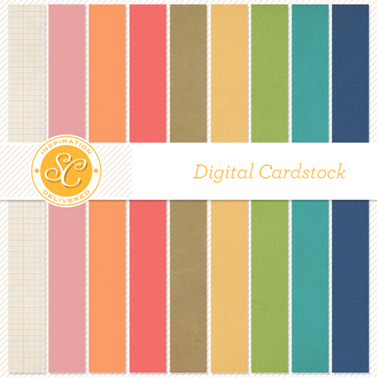 Bluegrass Farm Digital Cardstock