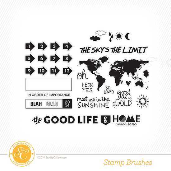 Penny Arcade Scrapbook Kit Stamps