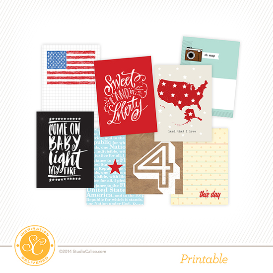 Penny Arcade July 4th Printable Cards