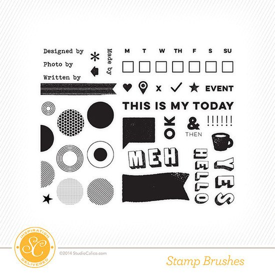 Sandlot Project Life Kit Stamps