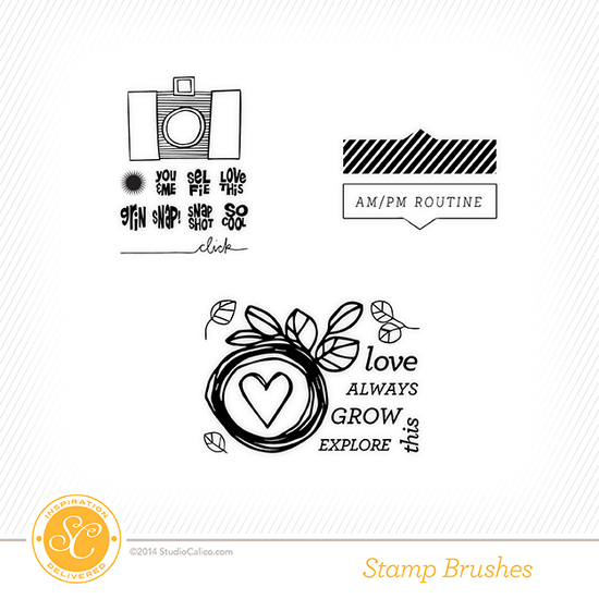 Poet Society Project Life Kit Stamps
