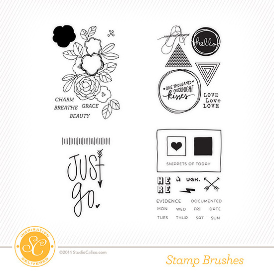 The Underground Scrapbook Kit Stamps