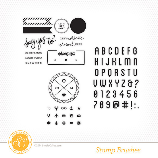 The Underground Project Life Kit Stamps