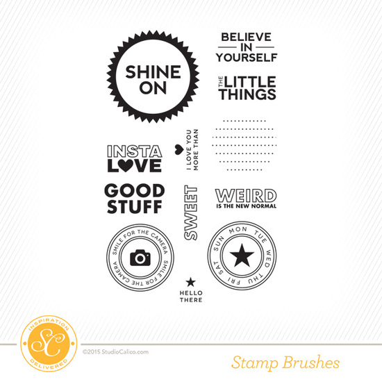 Far Far Away Project Life Shine Stamp