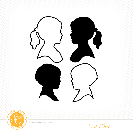 Cirque Silhouettes Cut Files by Paige Evans