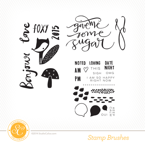 Cirque Project Life Kit Stamps