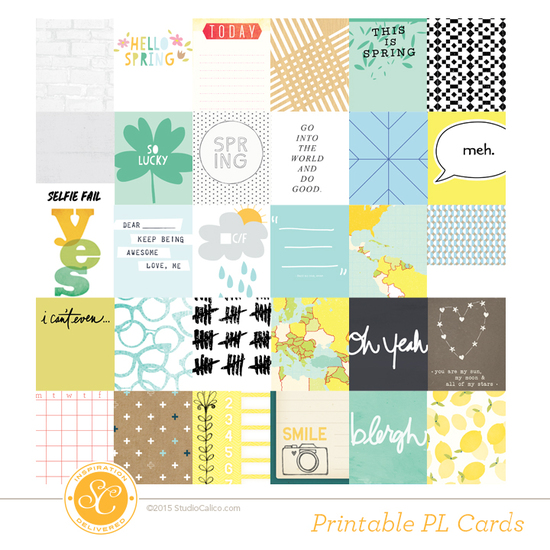 Odyssey Printable Journal Cards
