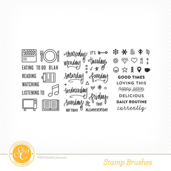 Lisse Street Project Life Kit Stamps