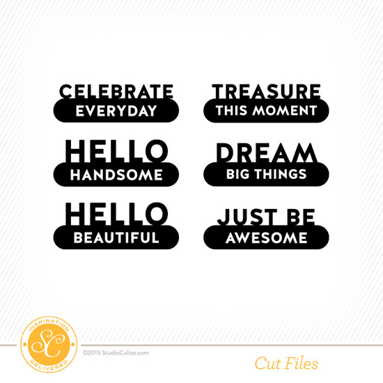 Carolina Moon Cut Files by Hello Forever