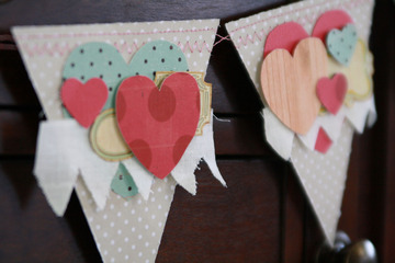 Valentinegarlandheart