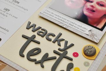 Wacky texts 2
