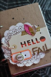 "Imagen 1 de ""Hola Fall"" Mini Álbum por adriennealvis"