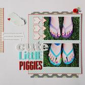 Cute litte piggies