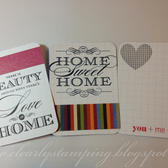 Journaling cards cobalt ctmh