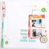 Sewing pretty with hello kitty