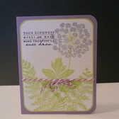 Studio calico layered stamping
