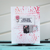 Youareloved card