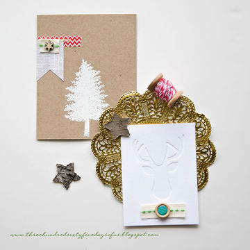 Itsmeamanda christmascards detail1