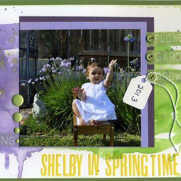 Shelby in springtime