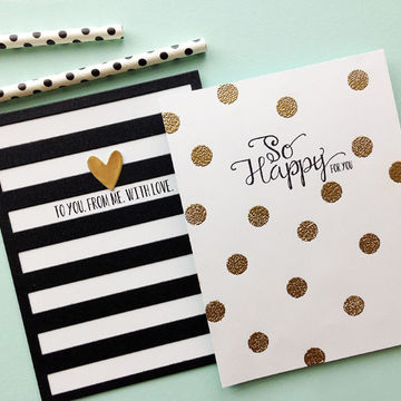 Polka_and_stripe_card_set