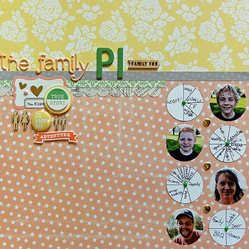 The family pi by jennifer larson