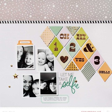 Selfie   studio calico penny arcade kit   kelly noel