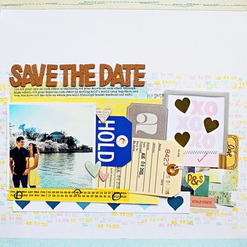 Save the date s and p
