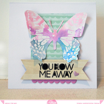 You blow me away card pfresh july 2014 border